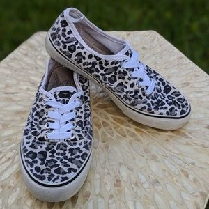 Other - CASUAL CANVAS LEOPARD PRINT SNEAKERS